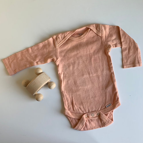 copy of Natural Hand Dyed Onsie -Madder Root and Iron