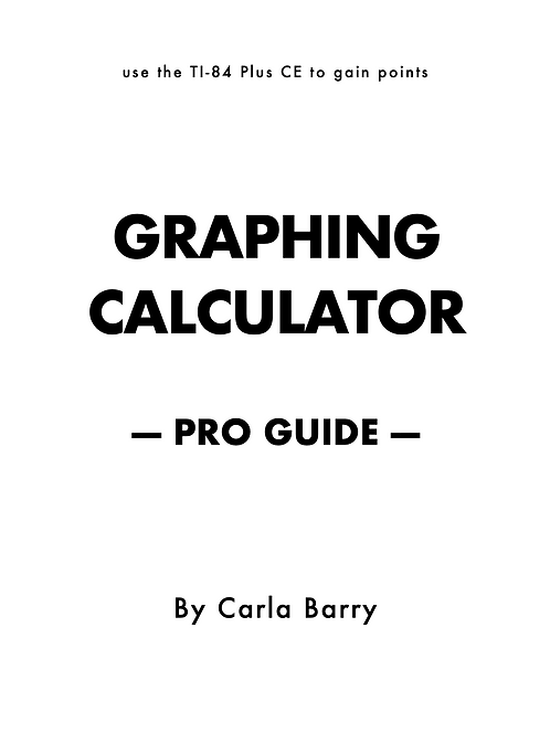 Graphing Calculator Pro Guide