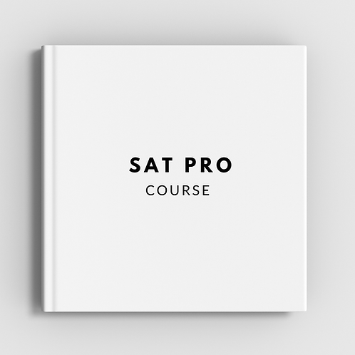SAT® Pro Course Late Registration