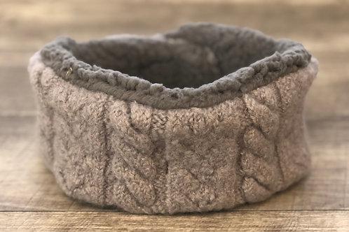 Warmer Headband, Gray, Adult