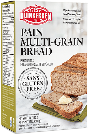 Multi-Grain High Fiber Mix Gluten Free