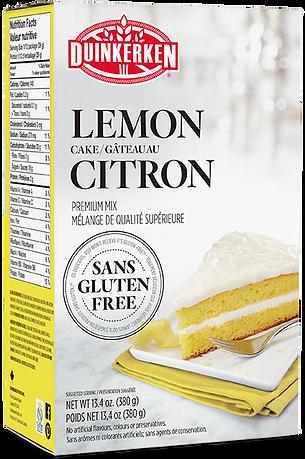Lemon Cake Mix Gluten Free