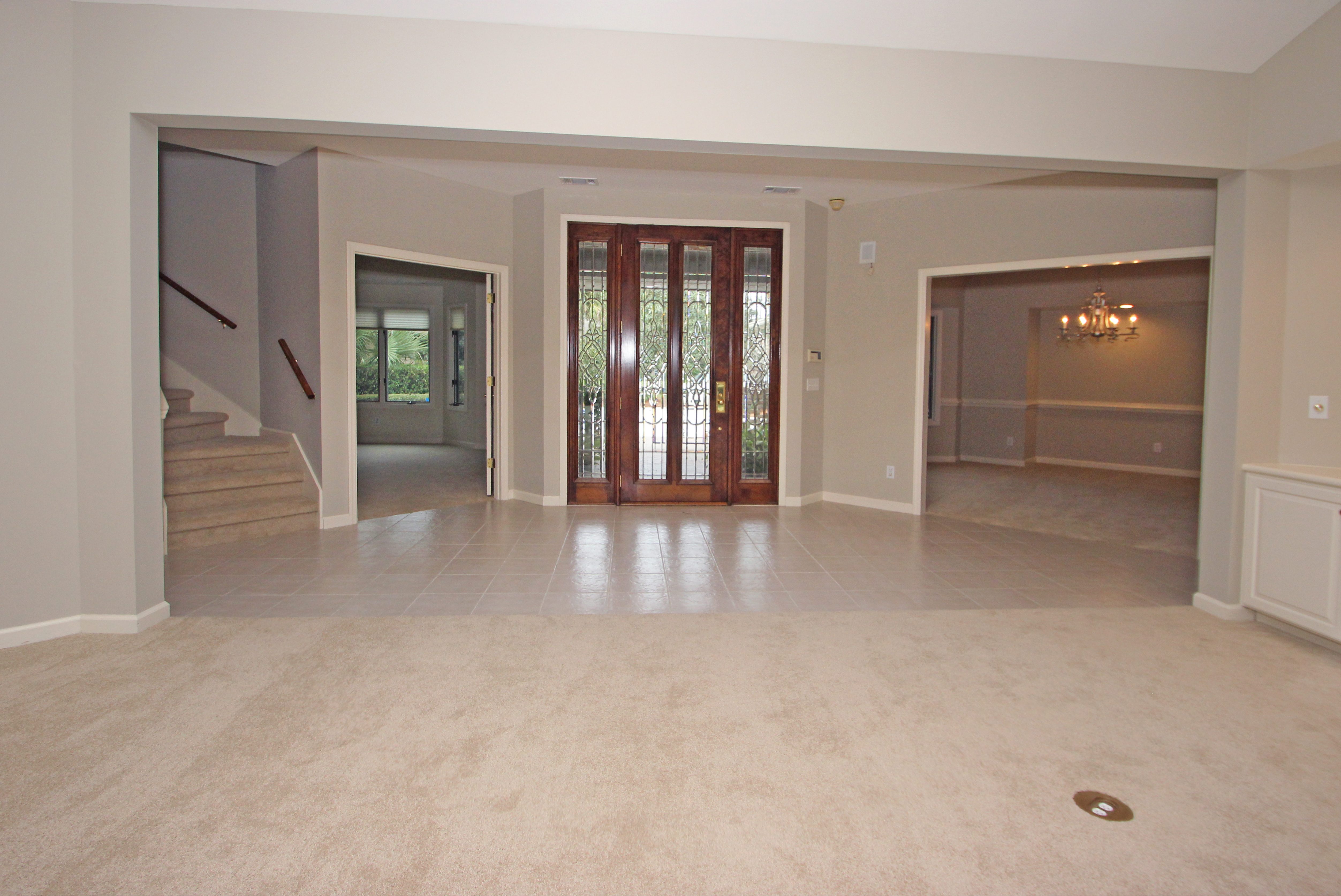 HI - Front entrance from living room