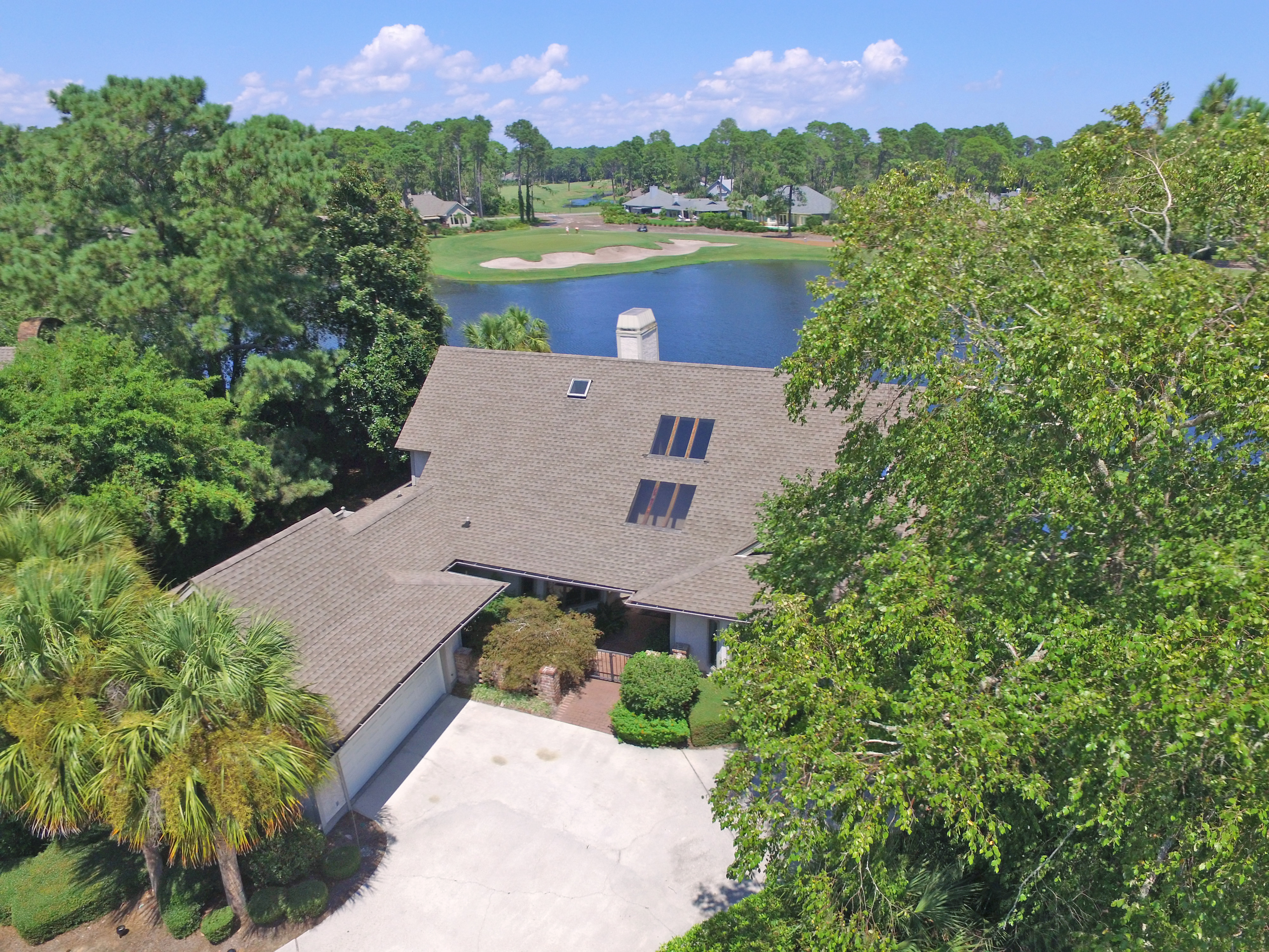 HI - Front of house aerial 2