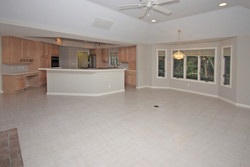 HI - Family room to kitchen