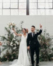 bay area modern wedding ceremony
