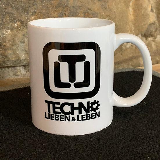 Techno Lieben & Leben Tasse