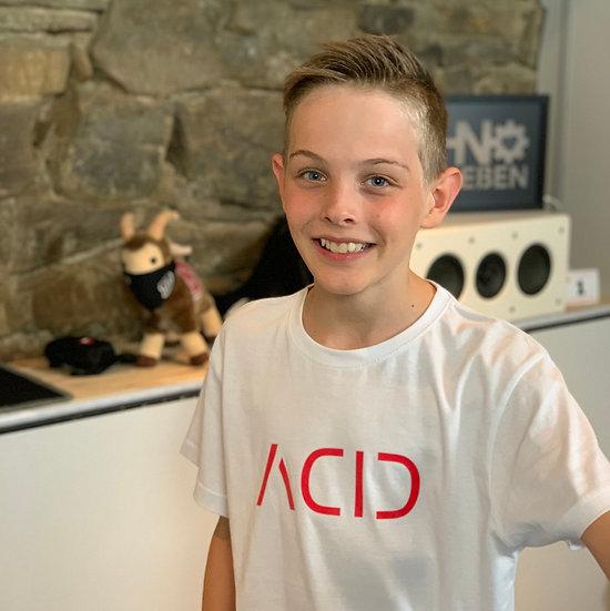 ACID T-Shirt in weiß