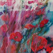 annblockleyswapoppydancewatercolour72x56