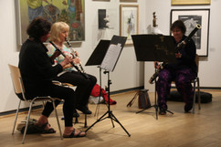 Tallis trio at the Young people's art in