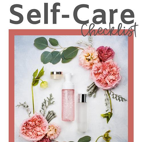 Self-Care Checklist + More