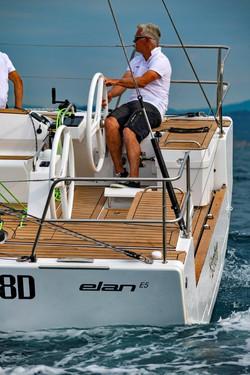 Elan E5 Sailing 2019 - 23