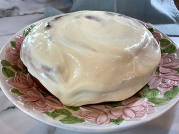 Scrumptious Cinnamon Roll The Size of a Platter!