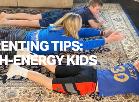 High-Energy Kids: Tips from KidStrong's Director of Research (and Boy Mom), Kristie Abt, PhD