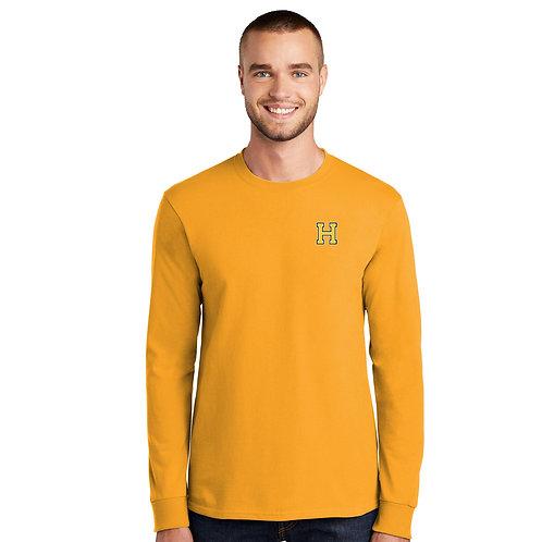 Gold Long Sleeve Shirt