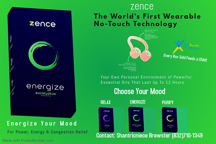 Zence Wearable Technology Postcard - Bre