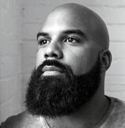 clean-shaved-head-with-full-beard-style-