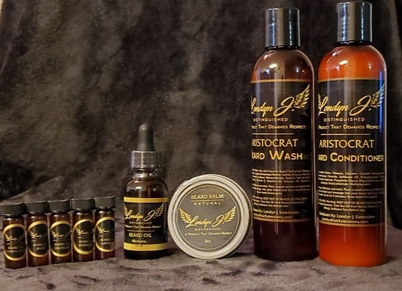 Londyn J Beard Care Kit with Samples