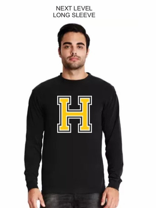 Long Sleeve T Shirt with the Big H Logo