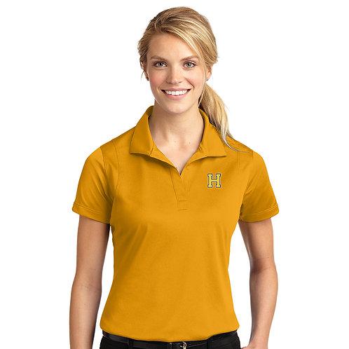 Women's Gold Polo