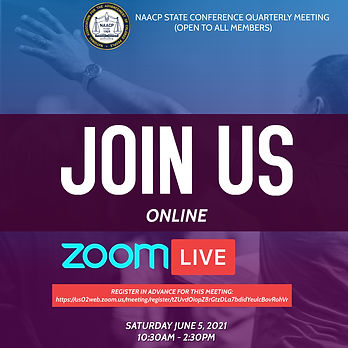 NAACP Conference Zoom Meeting - Design B