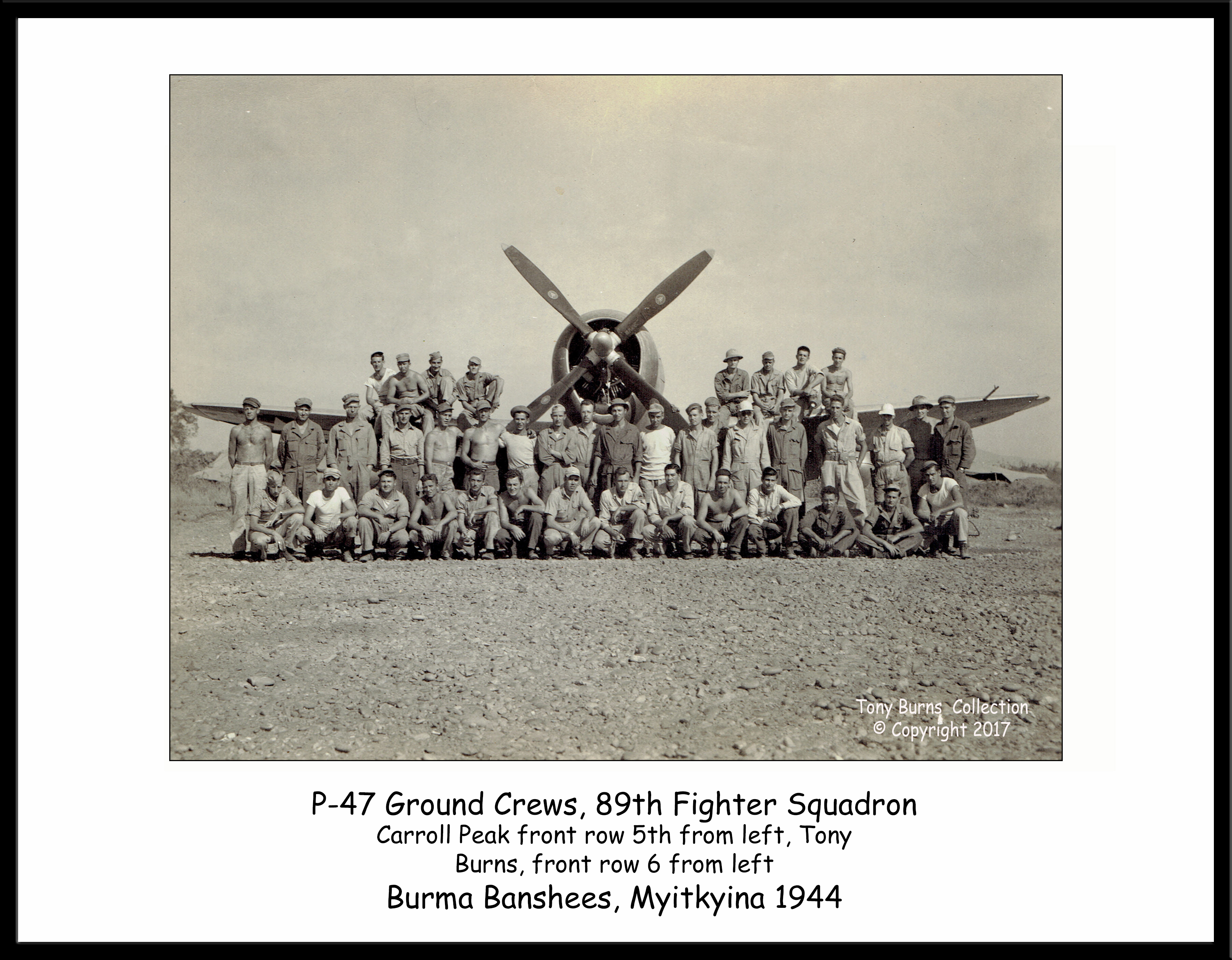 P-47D & 89thFS ground crews