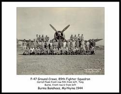 P-47D & 89thFS ground crews