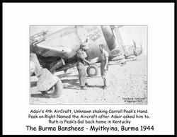 Adair P-47 #44 Ruth Kentucky Belle_Burns
