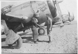 P-47D Adair #44 Ruth Kentucky Belle_Burns