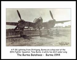 P-38 Chittagong_Burns