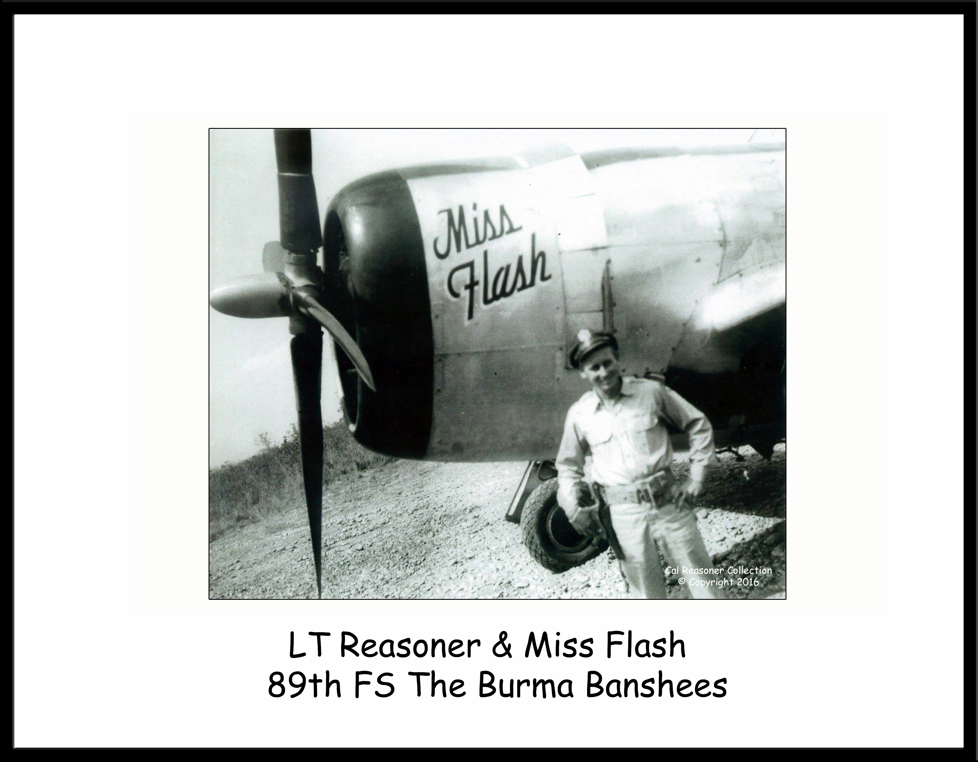 Cal Reasoner and Miss Flash