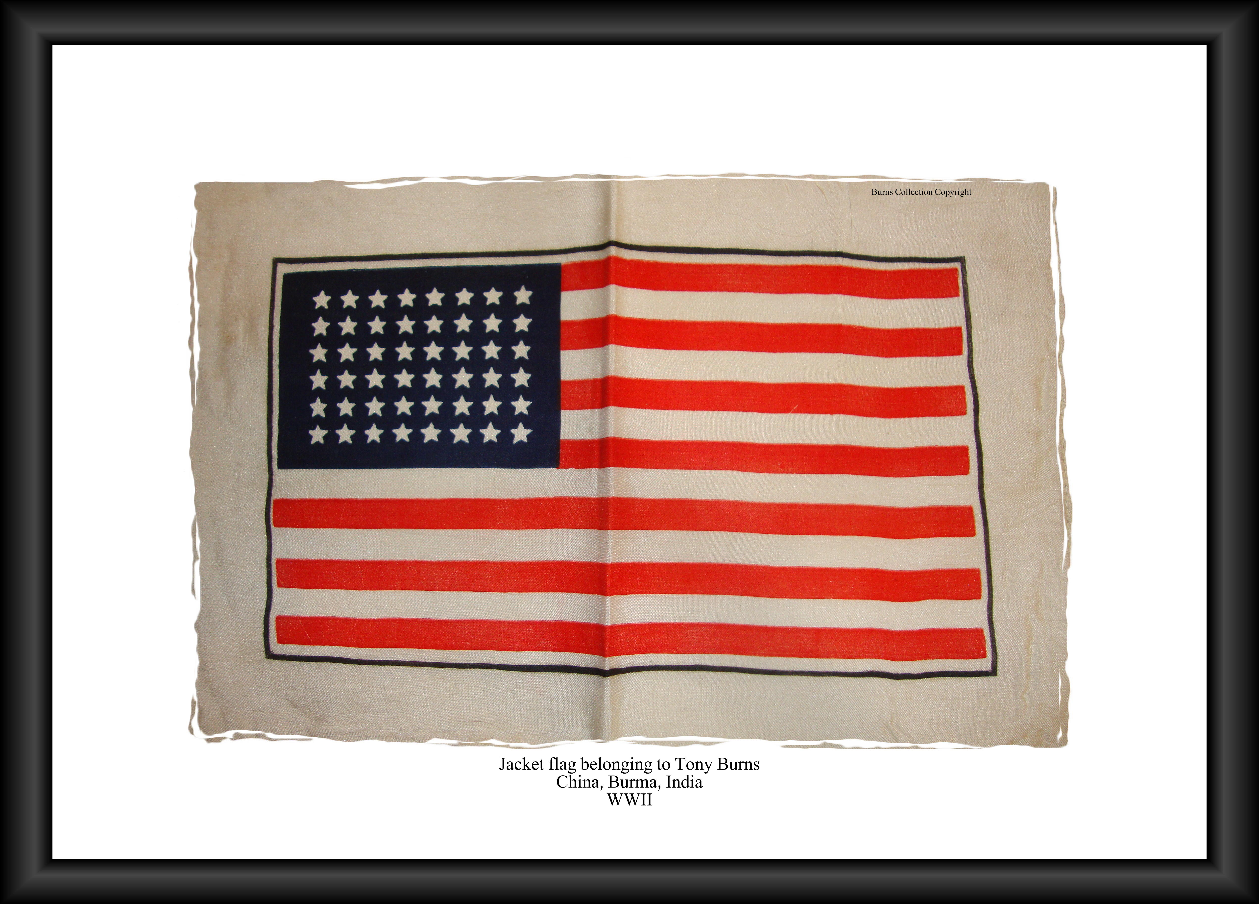 US jacket flag