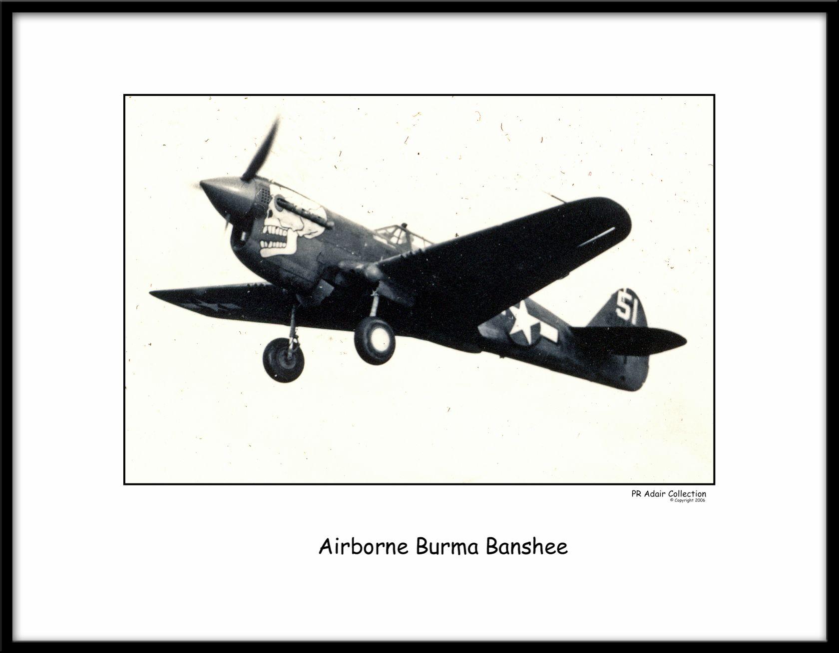 Burma Banshee 151