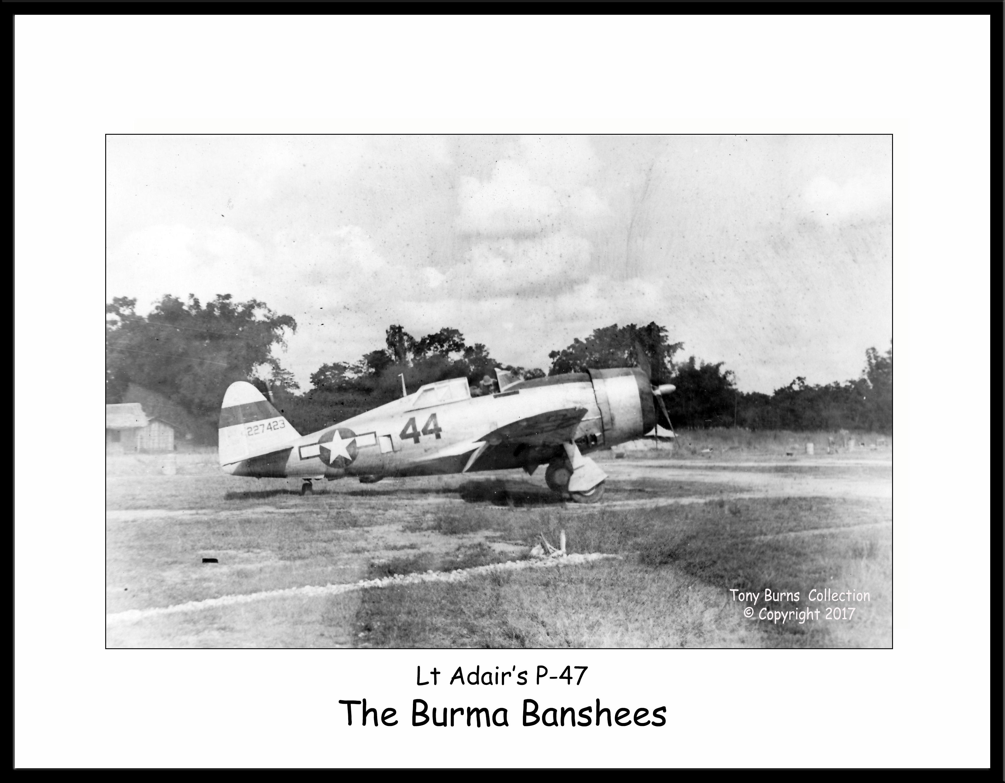 Lt Adair's P-47