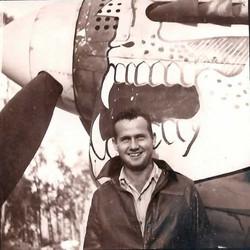 Bob Gale and his P40