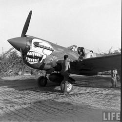 P-40N-5 Lulubelle w_Adair #44