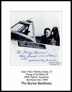 Jones in P-47 Little Rebel II_Burns