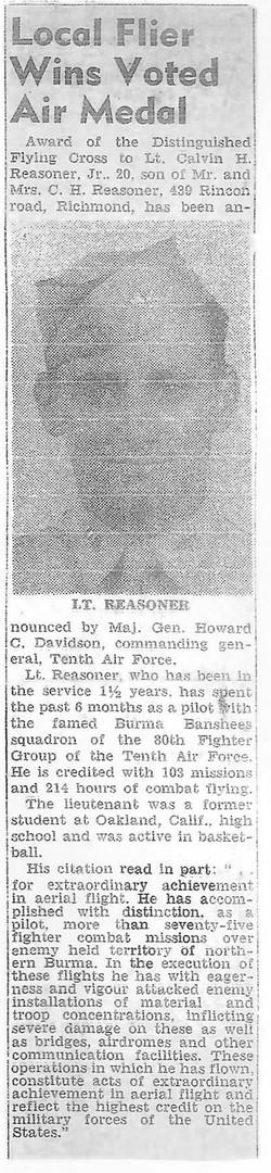 Reasoner Newspaper copy