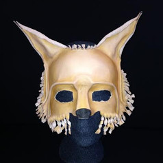 Leather Fox Mask