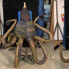 Octopus wearable puppet