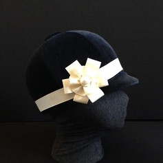 Buckram and Velvet Hat
