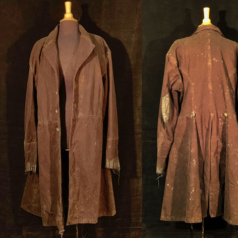 Aged and Distressed Coat