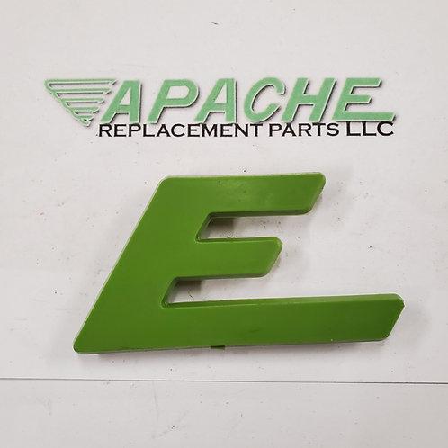 Green Letter 'E'