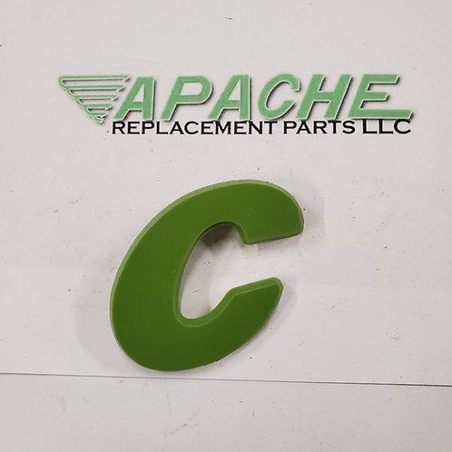 Green Letter 'C'