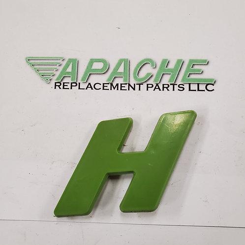 Green Letter 'H'