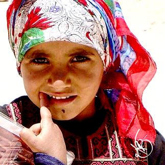 Girl With A Silk Scarf