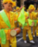 parade drumming