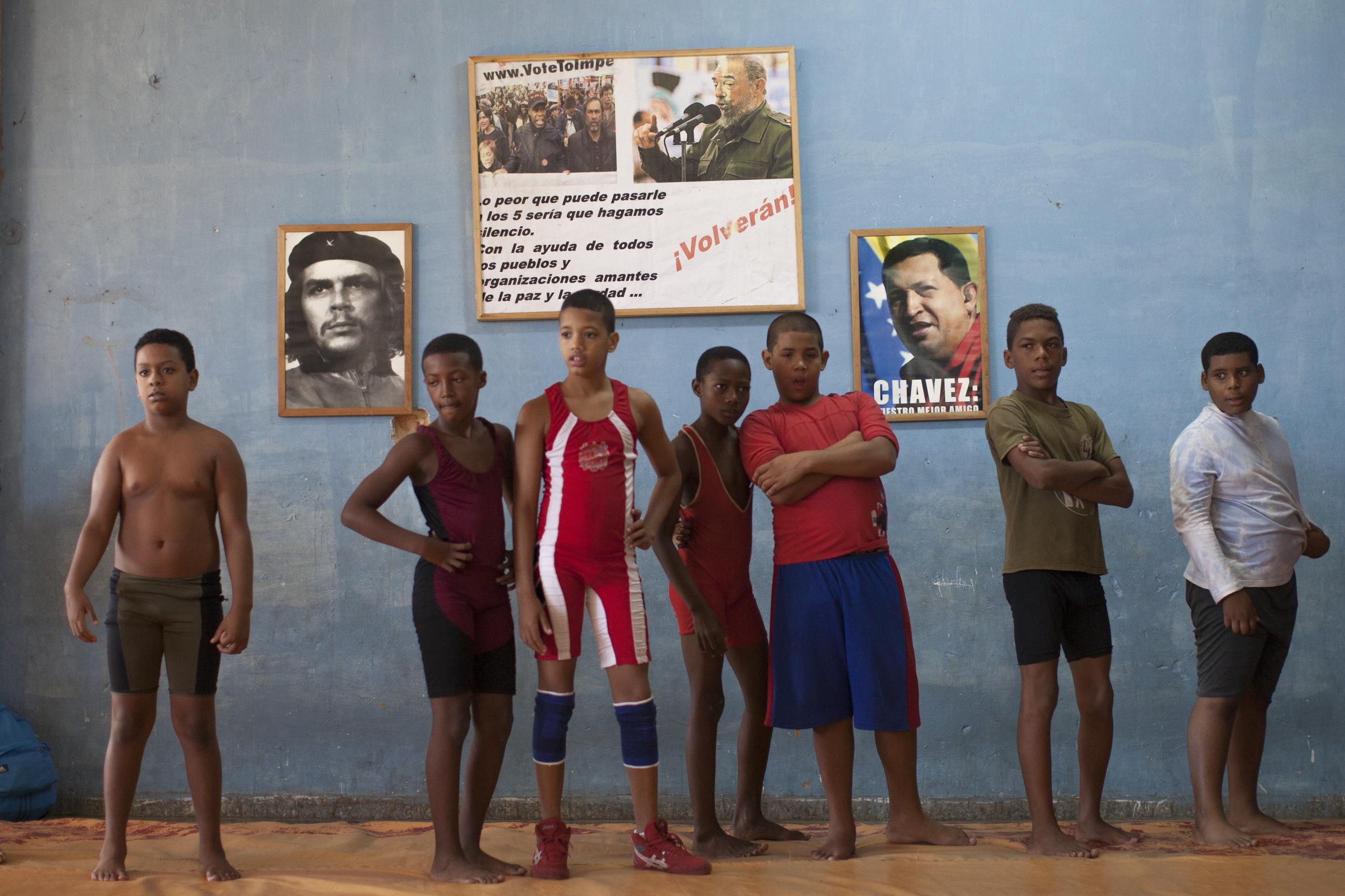 Cuba Wrestling School