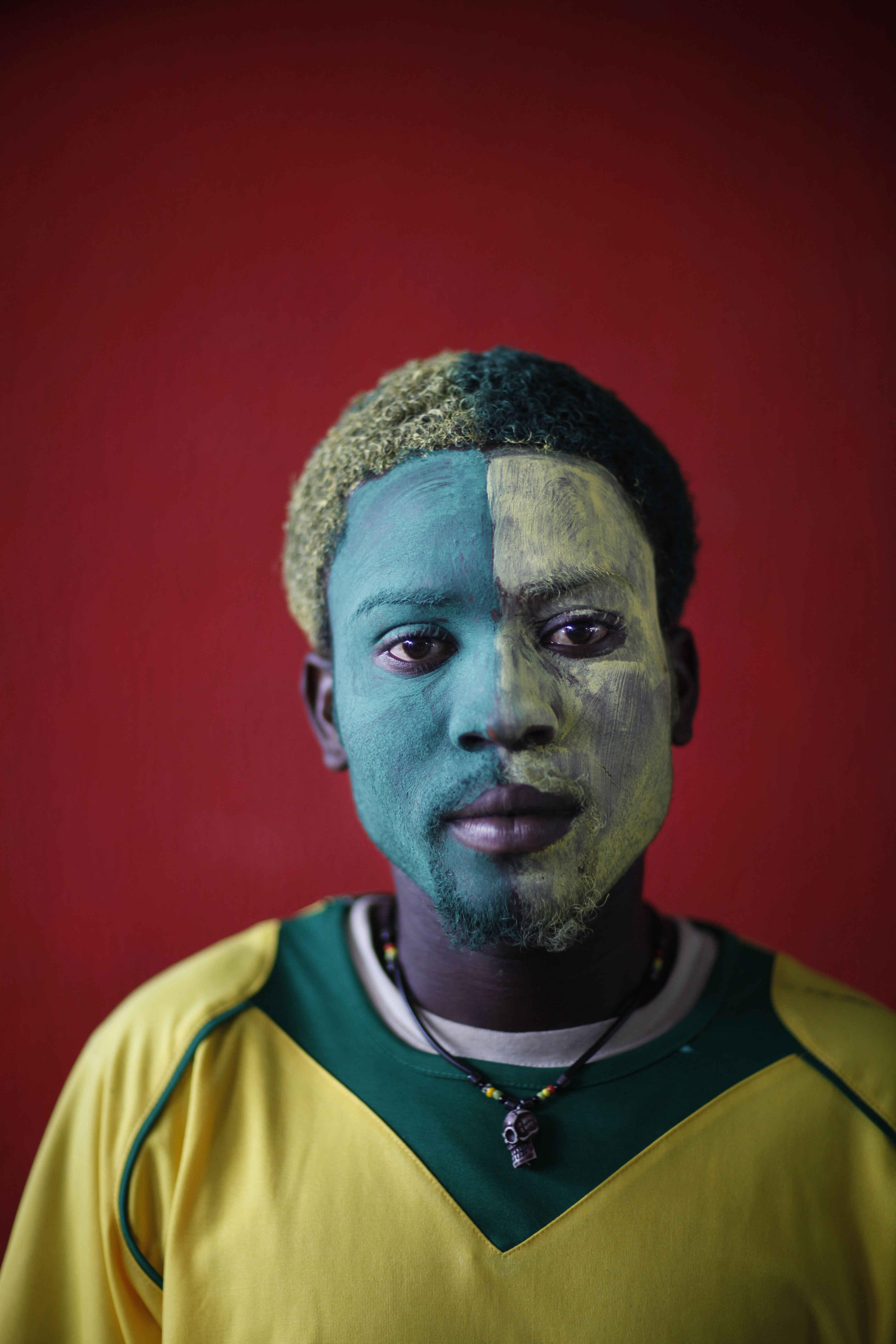 Haiti's Soccer Fans - series