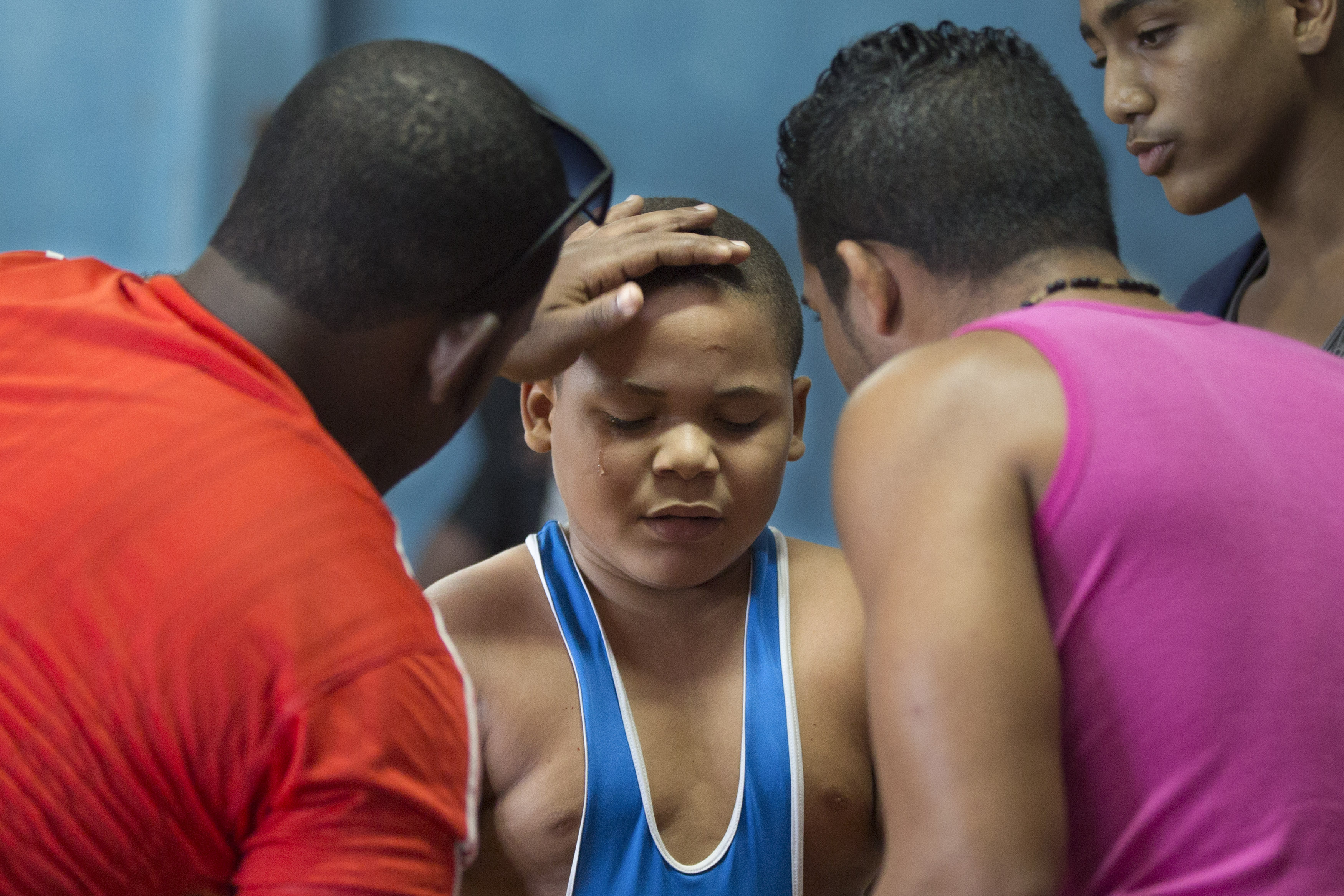 Cuba young wrestlers - series